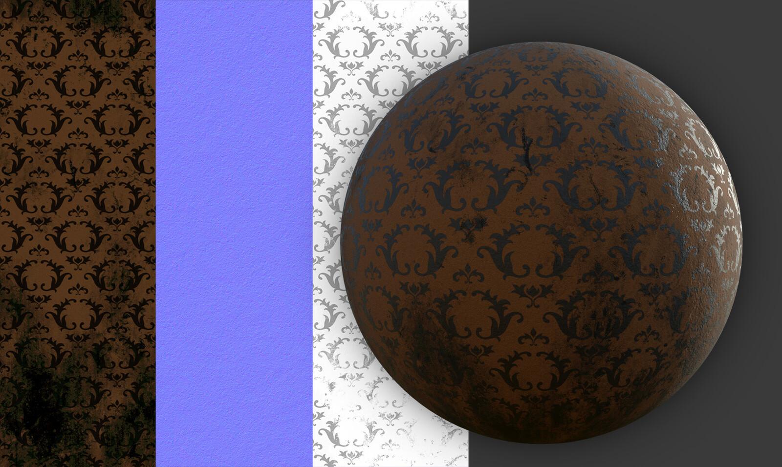 Wallpaper Substance material