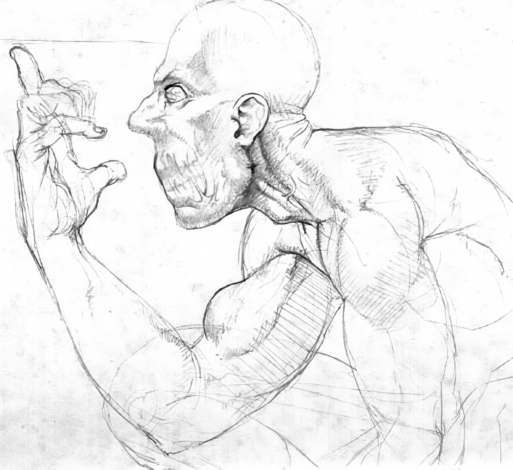 William furneaux uprezsandman sketch edit