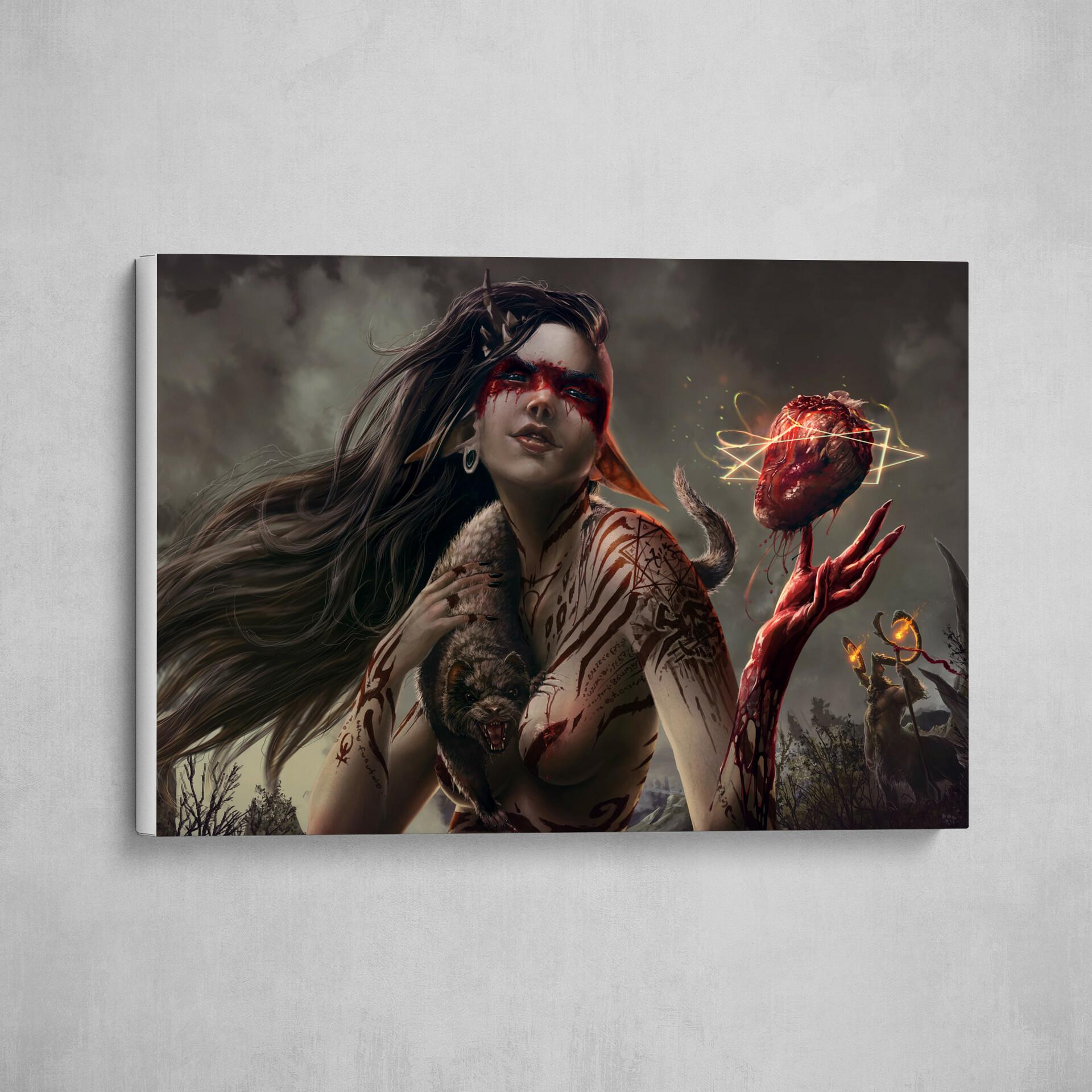 Print for sale https://www.artstation.com/prints/8L5o/riala-sempervita