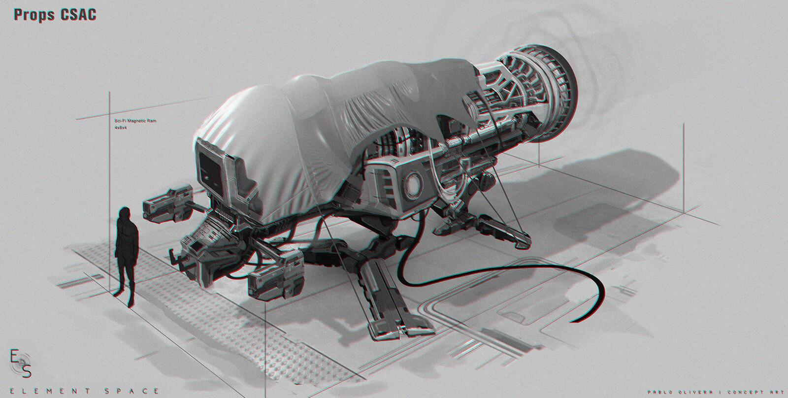 Element Space / Props