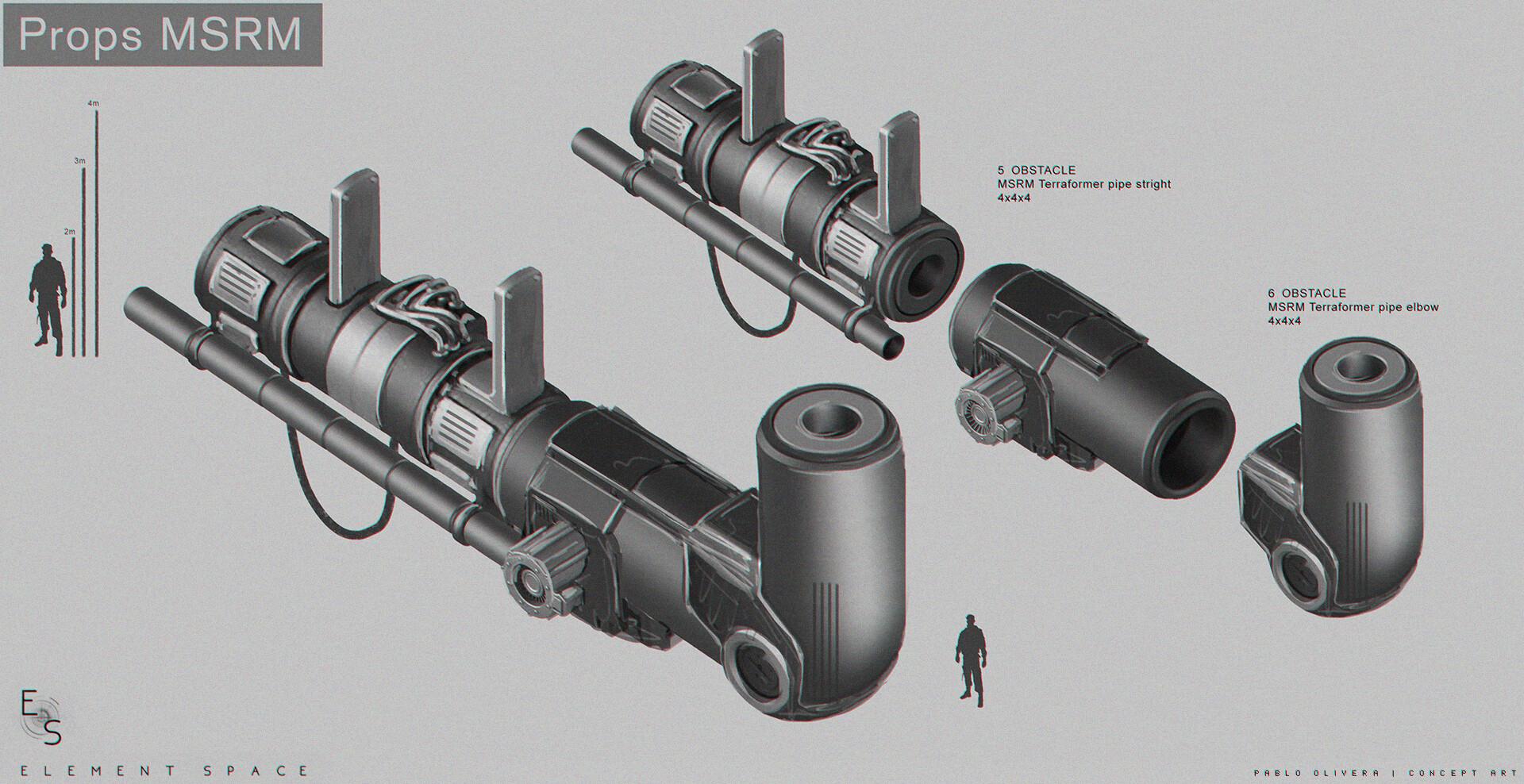 Pablo olivera element space props msrm v09 tubos final