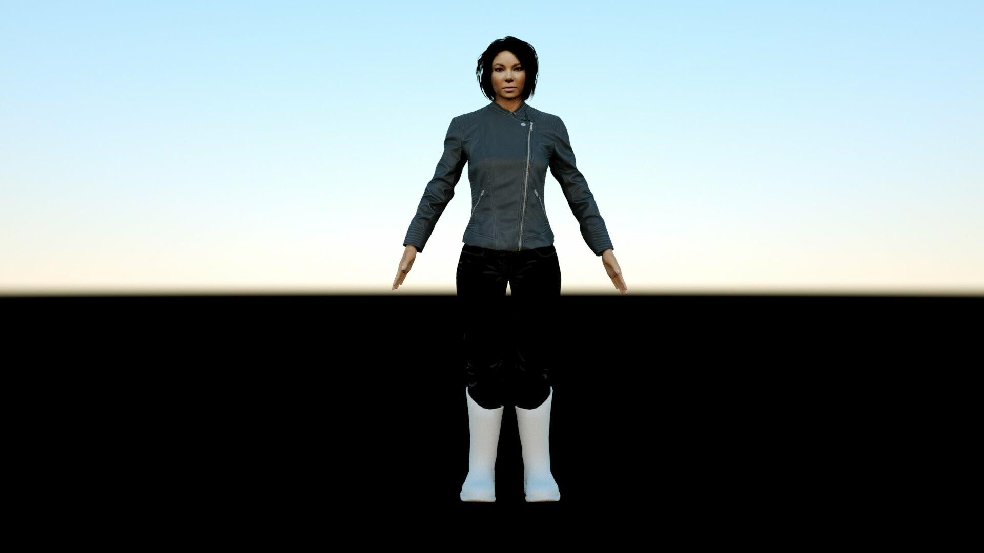 ArtStation - XS (Nora West-Allen) 3D Model by The Blast, 9A Films