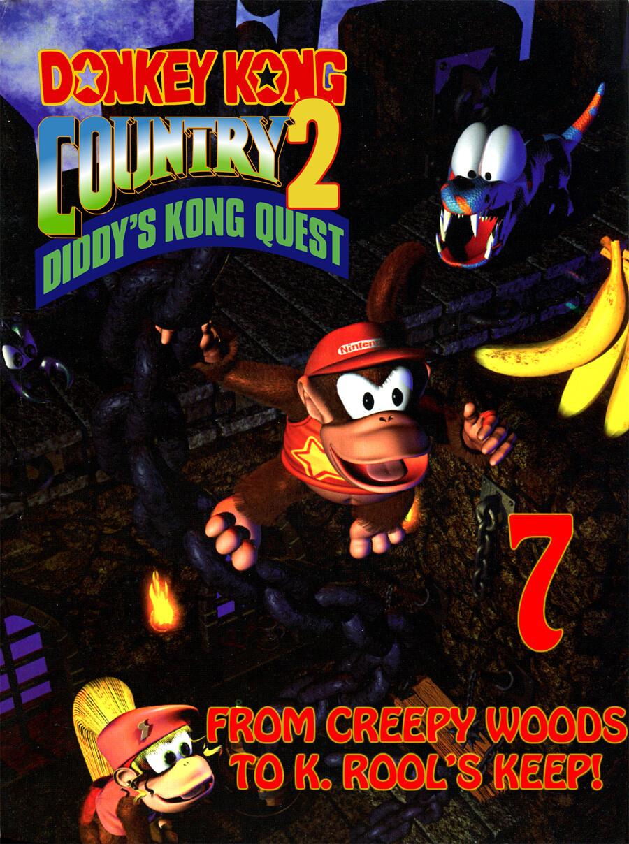 ArtStation - Donkey Kong Country 2 custom thumbnail, Kevin