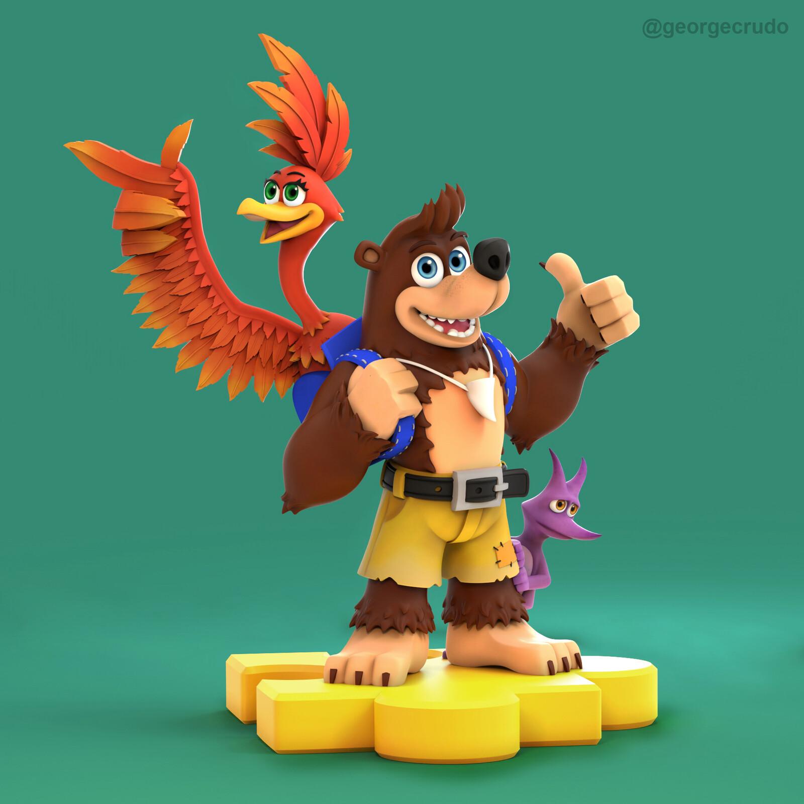 Banjo-Kazooie!!