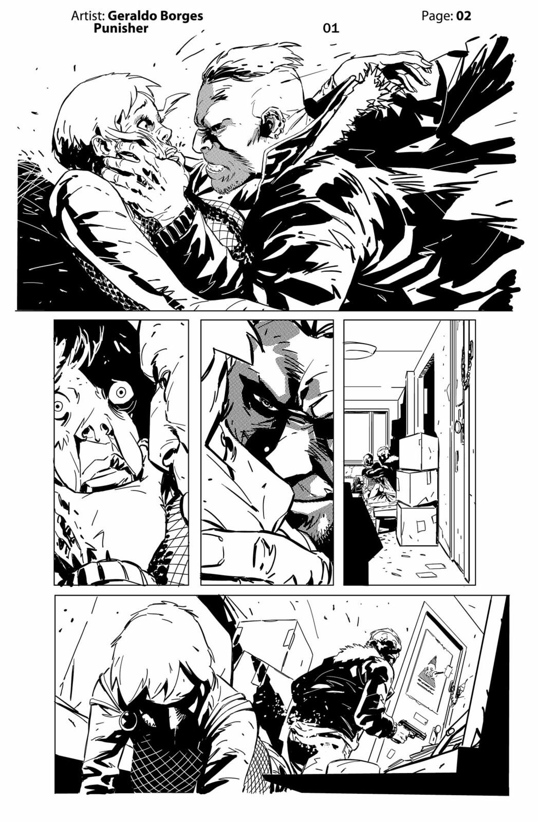 Geraldo Borges - Punisher Page 02