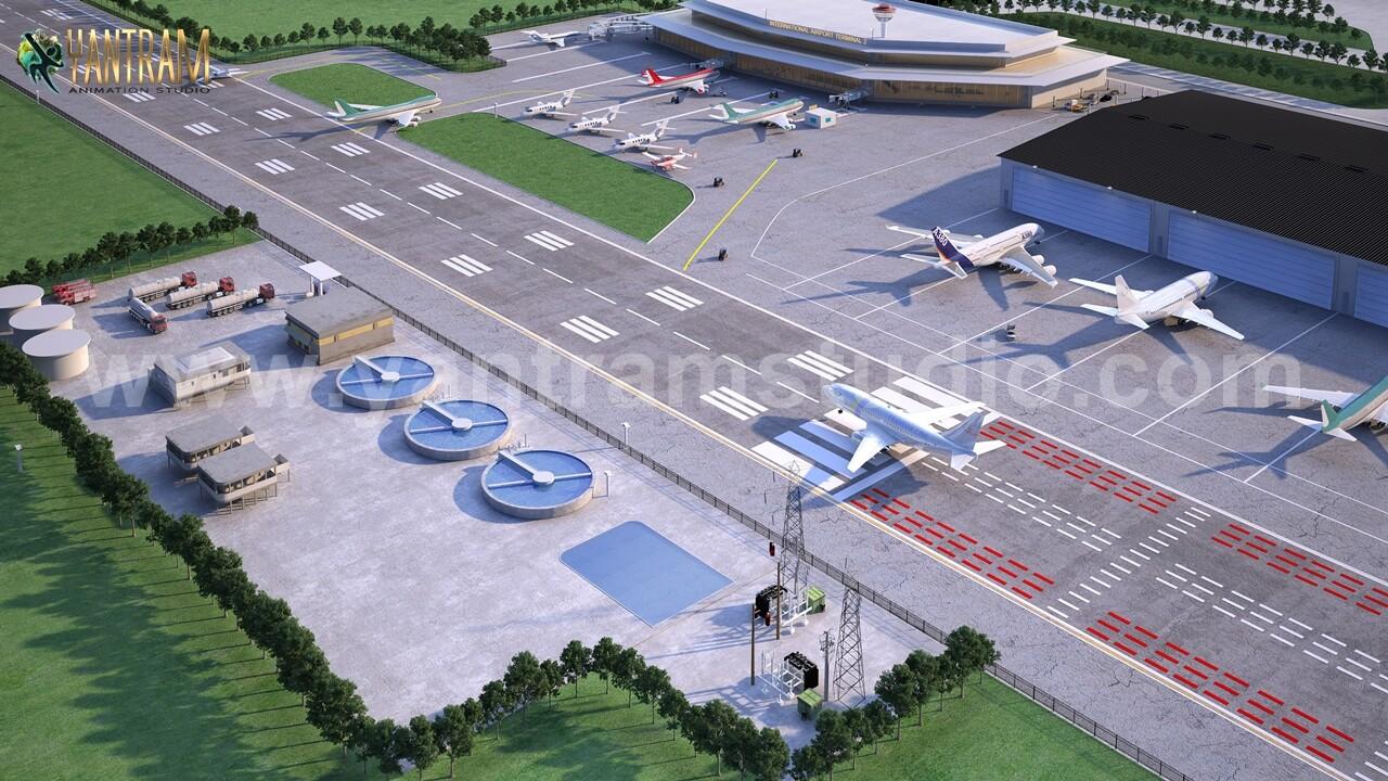 Artstation Airport Concept 3d Exterior Designers Floor Plan By Architectural Studio Brisbane Australia Yantram Architectural Design Studio