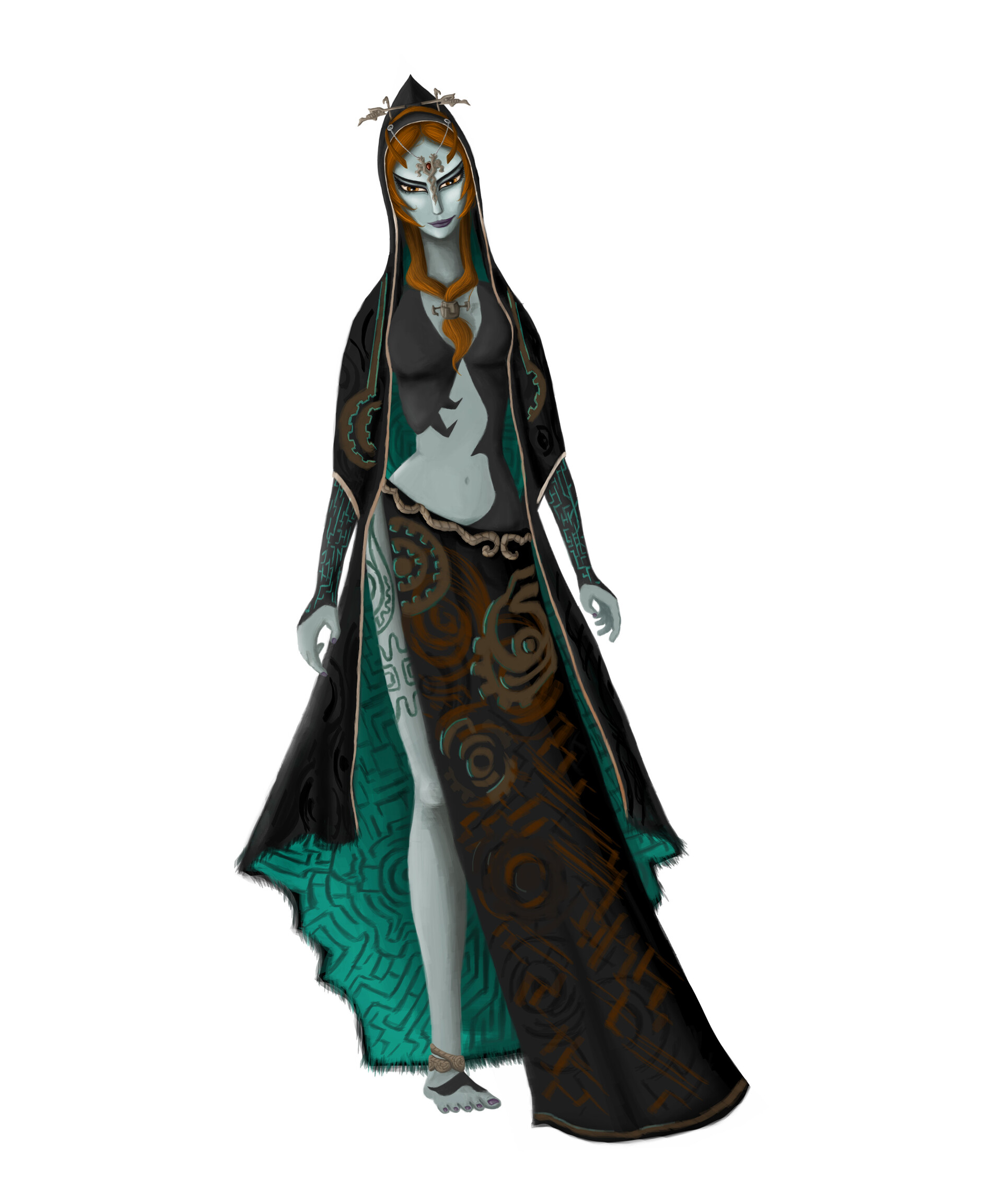 Astrid Colon Midna From The Legend Of Zelda Twilight
