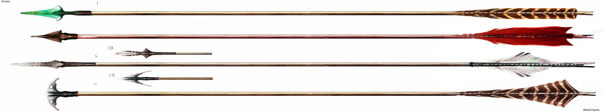 Wietze fopma arrows