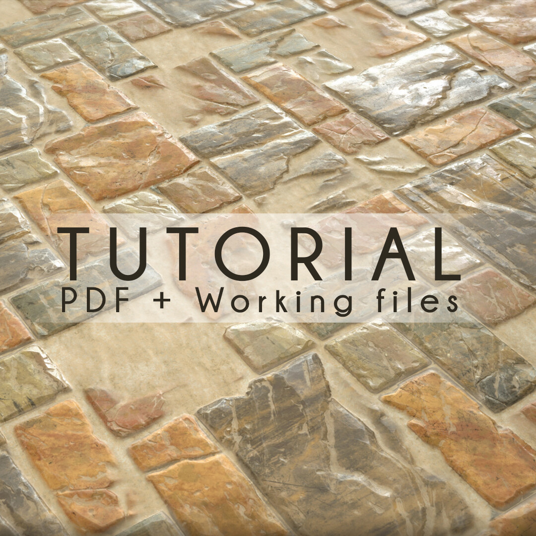 Tutorial Material Creation - Warmish Pavement