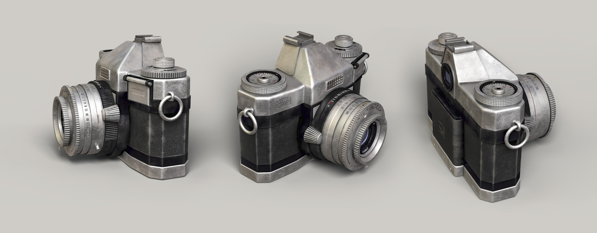ArtStation - Vintage Camera, Alina Zhdanova