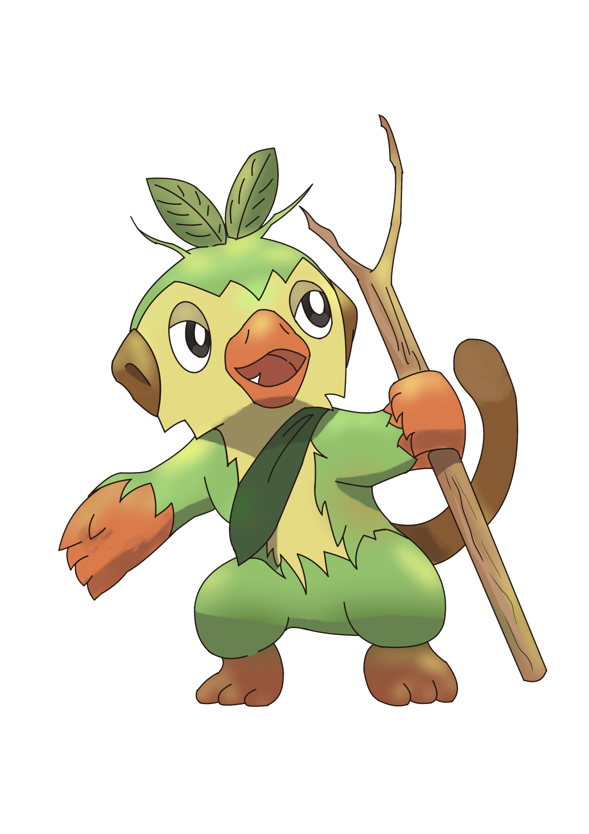 Guillermo Salazar Grookey Evolution Grookey is the pokemon whish has one type (grass) from the 8 generation. guillermo salazar grookey evolution