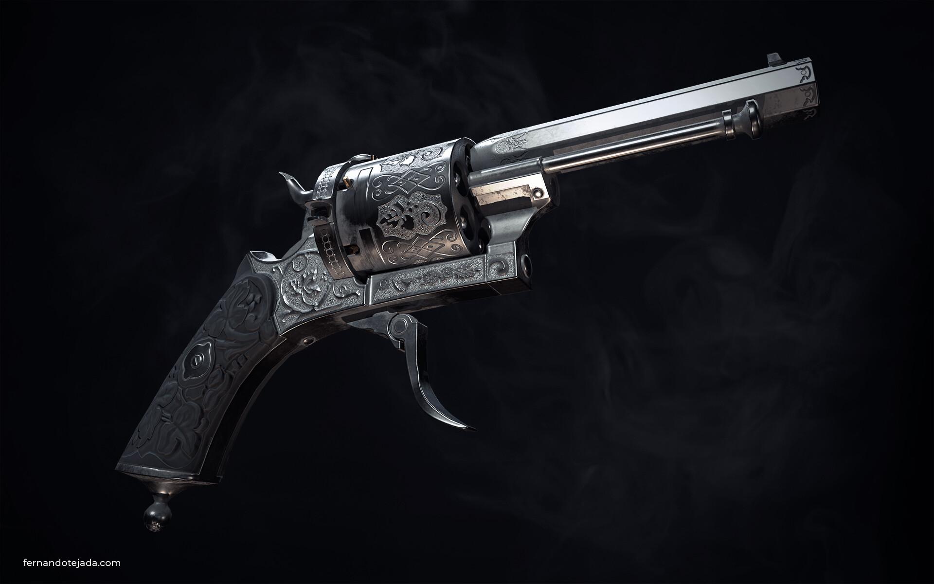 Vintage french revolver 2