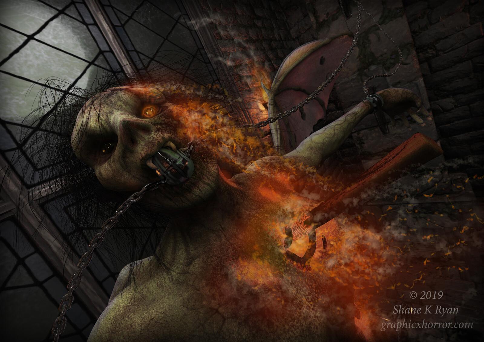 Vampires Execution.