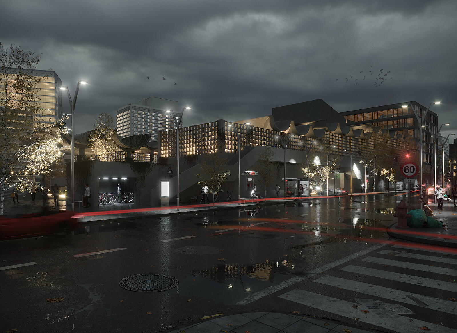 UTZON X UNBUILT - UNFINISHED PROJECT 100% CGI