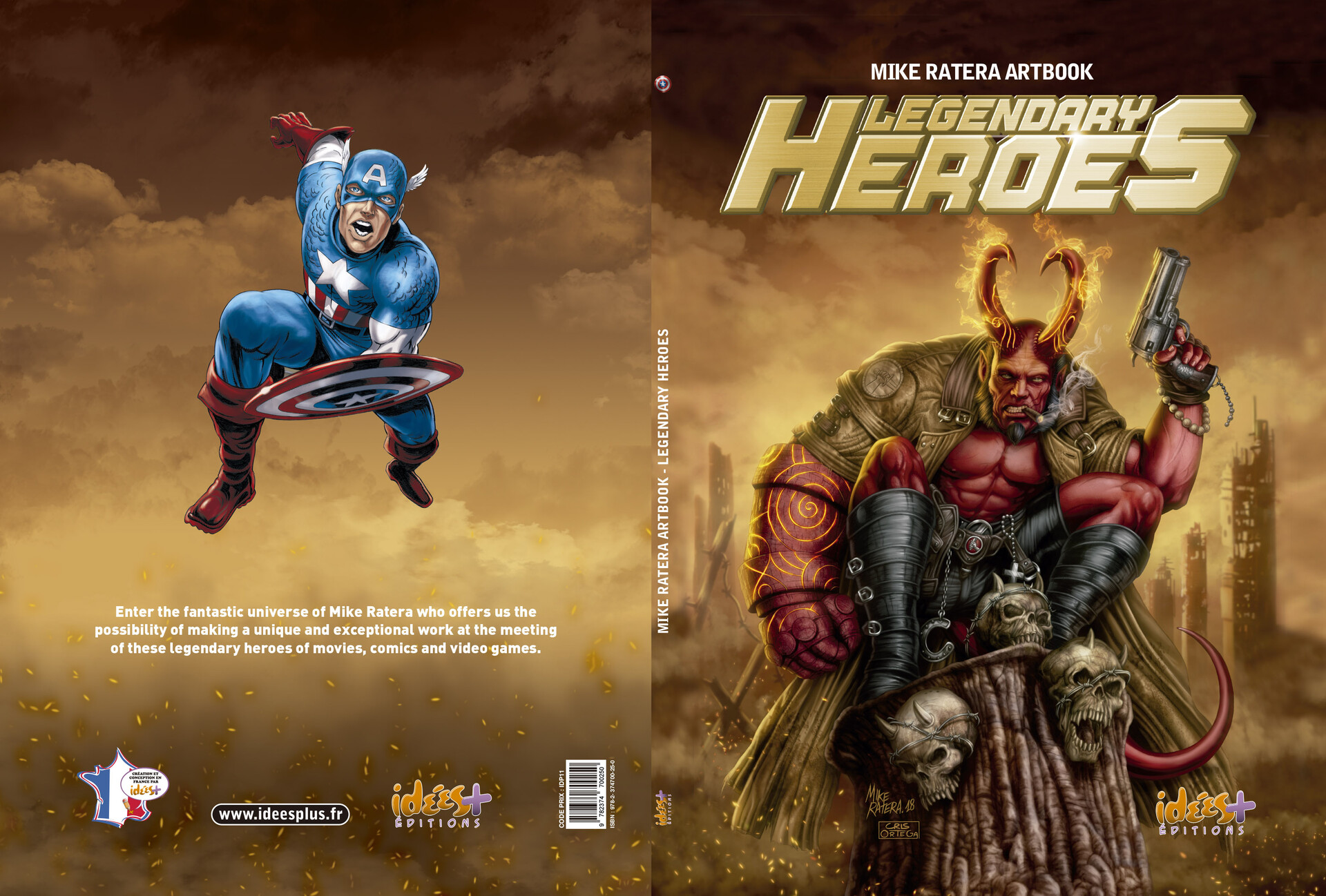 Mike ratera legendary heroes ac cover c1 c4
