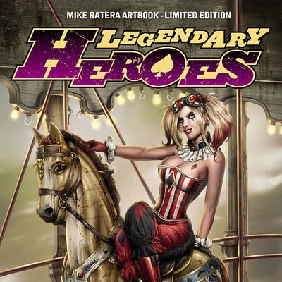 Mike ratera legendary heroes tt cover c1
