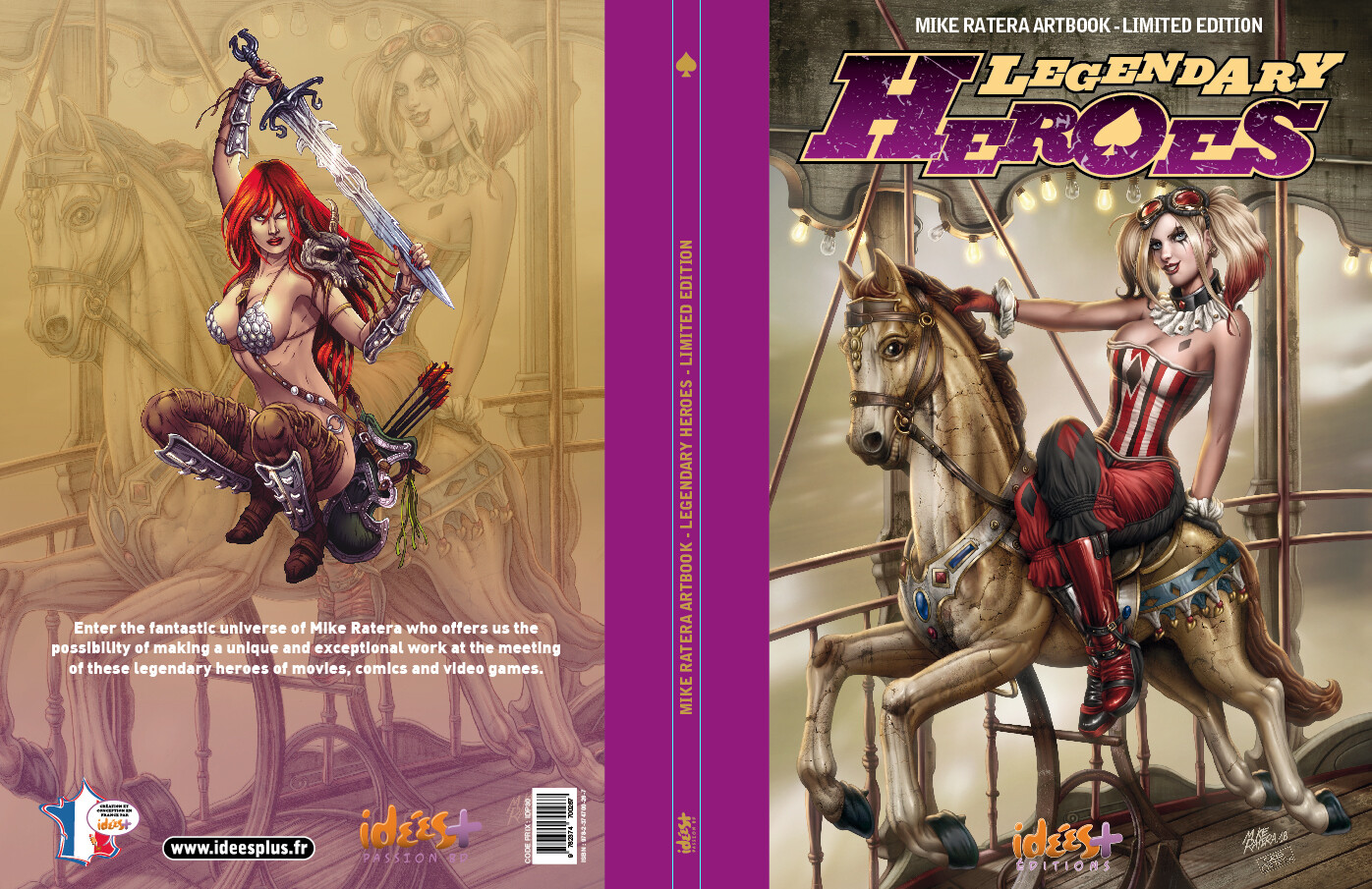 Mike ratera legendary heroes tt cover c1 c4