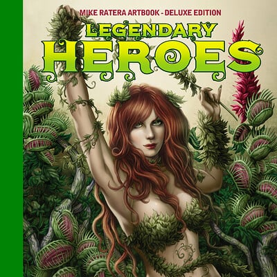 Mike ratera legendary heroes tl cover c1