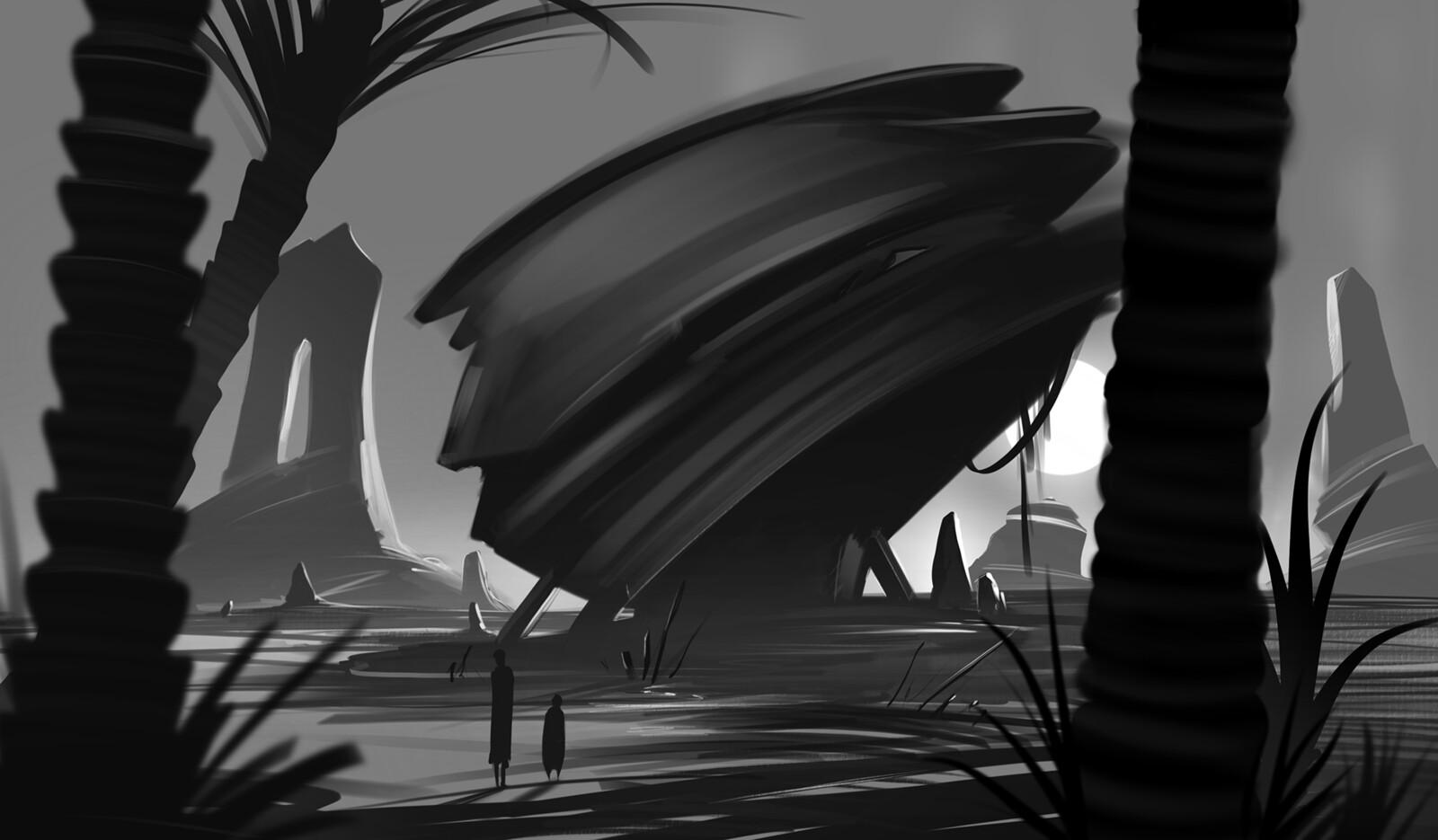 Black&White Quick Sketches