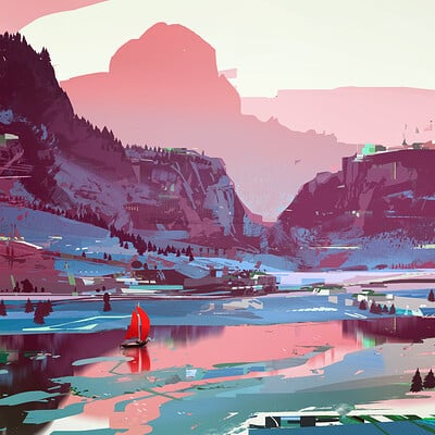 Sparth sparth river red small