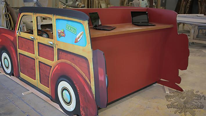 Randa rivera z2a woody wagon 36