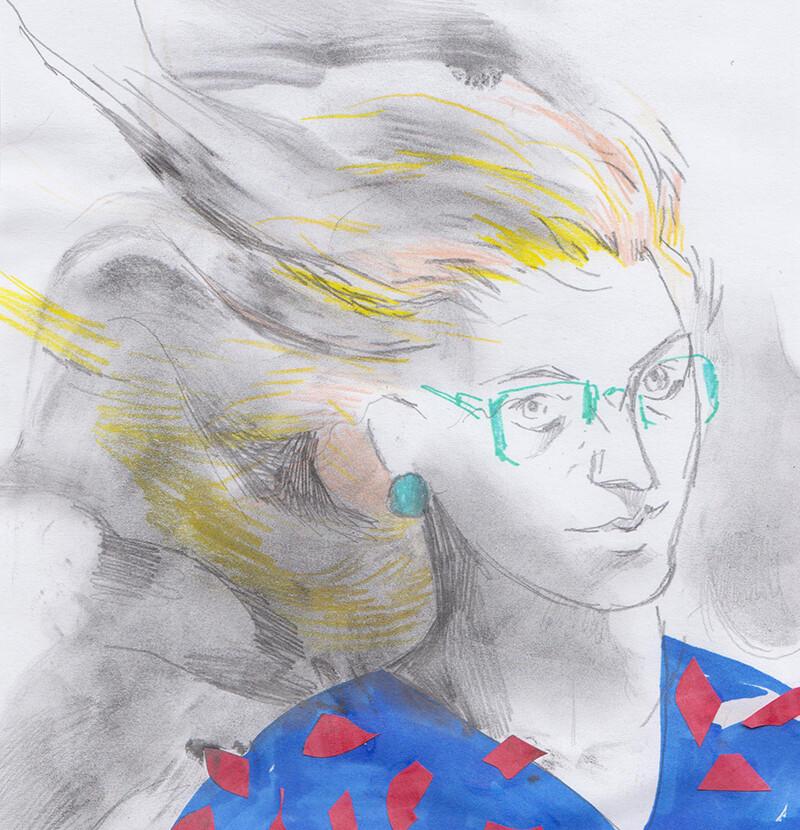 Korina hunjak steph sketch