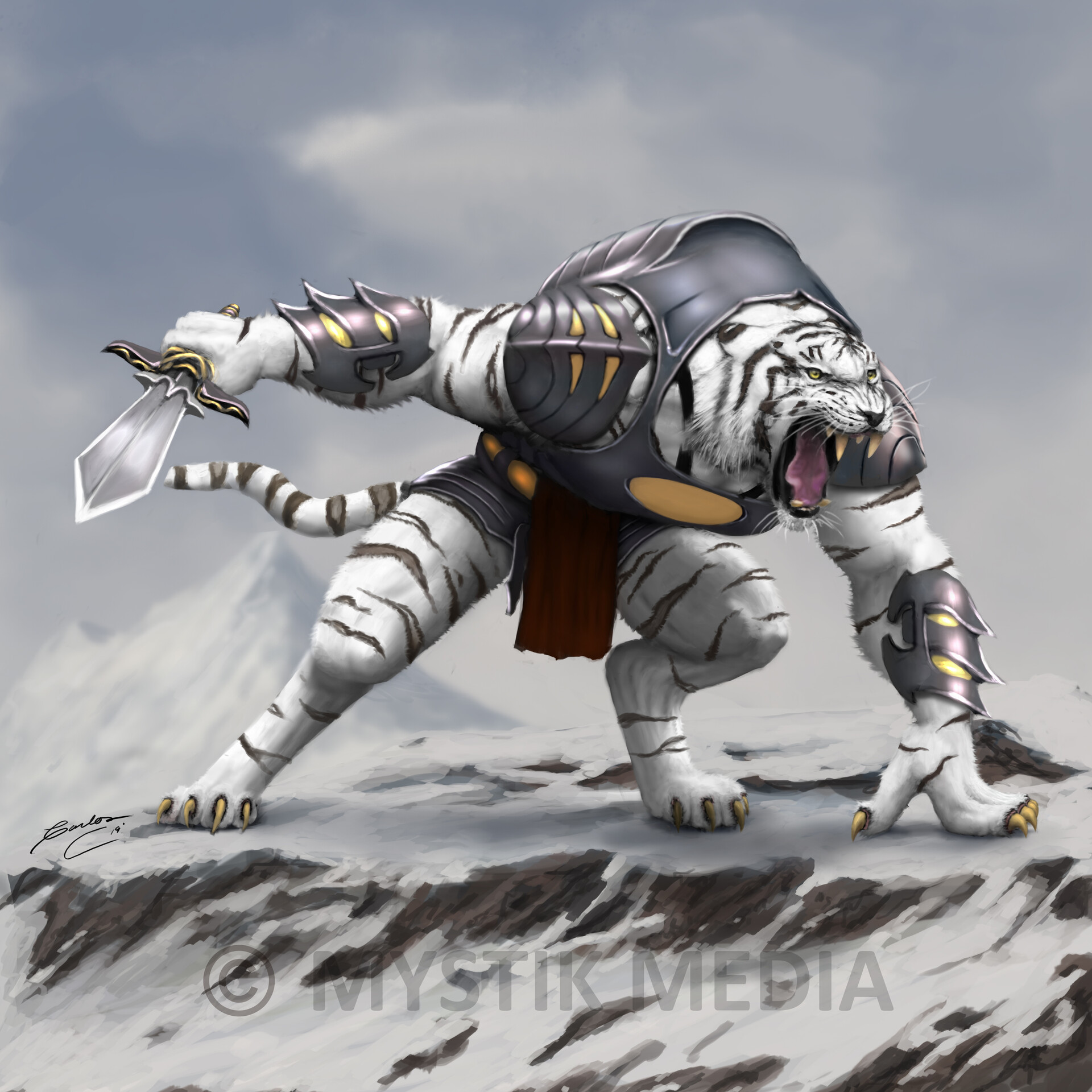 Carlos contreras white tiger warrior final