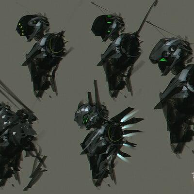 Benedick bana cyberunit design lores