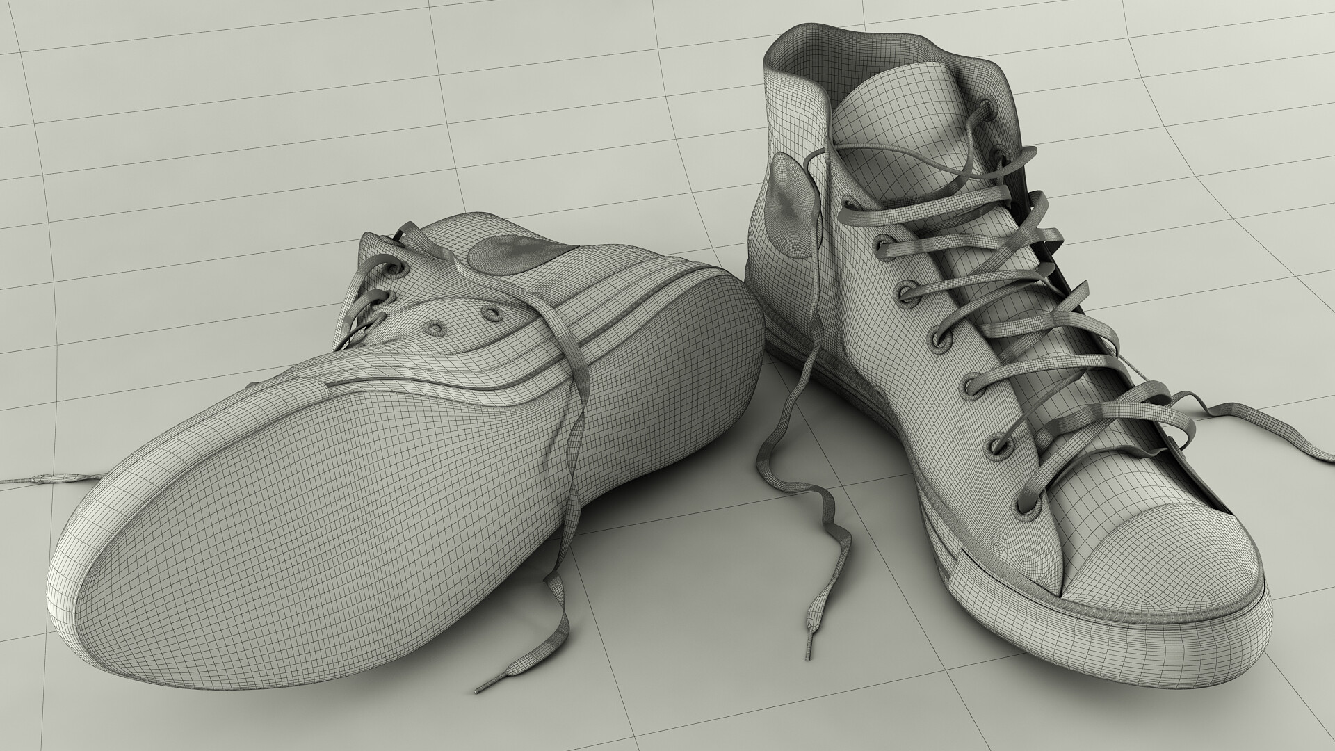 9135ffb7095699 ArtStation - Converse All Star Chuck Taylor
