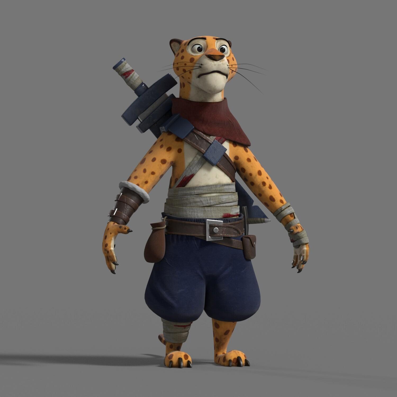 Thales simonato ch leopard lookdev v001