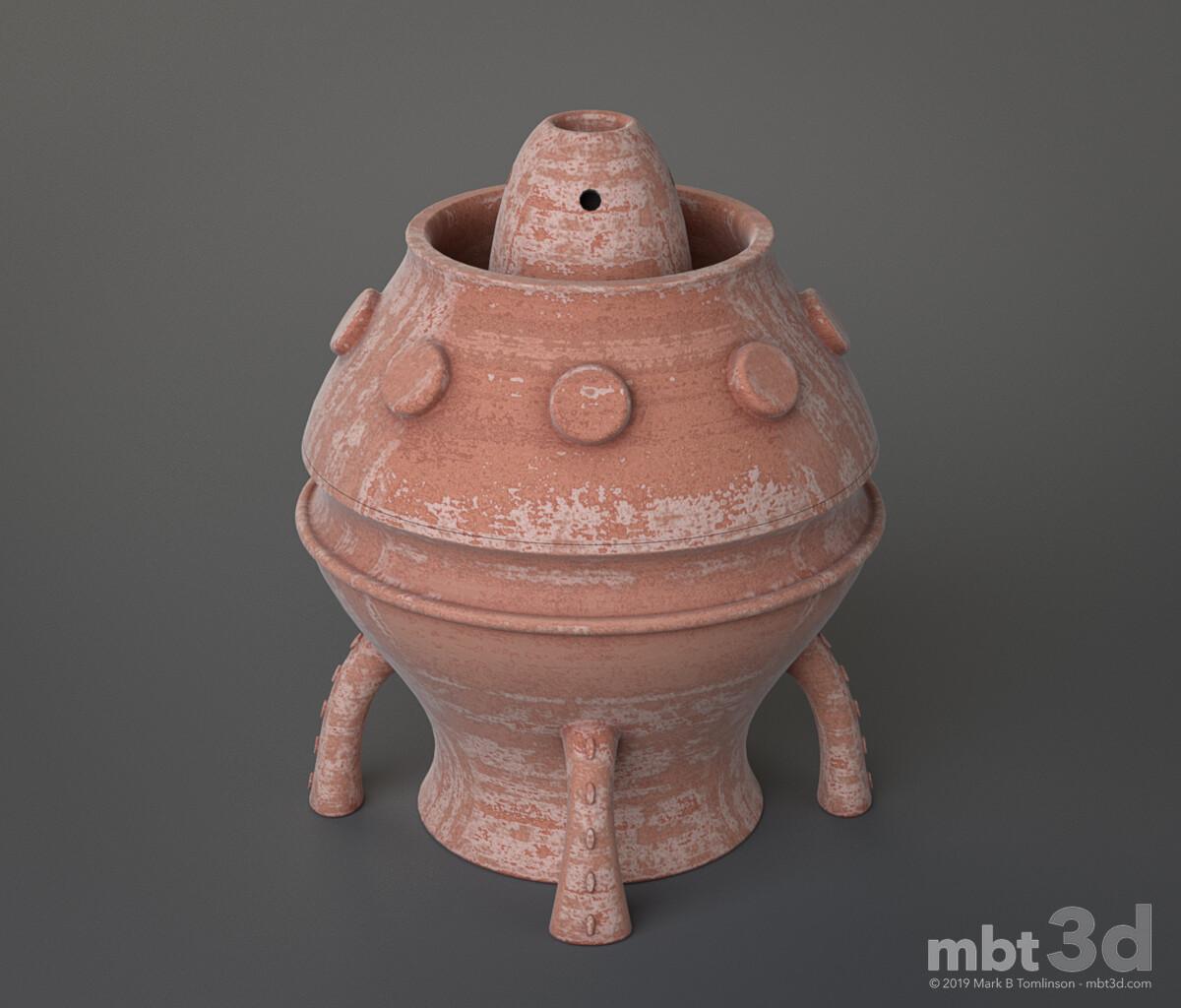 Terracotta Jar: