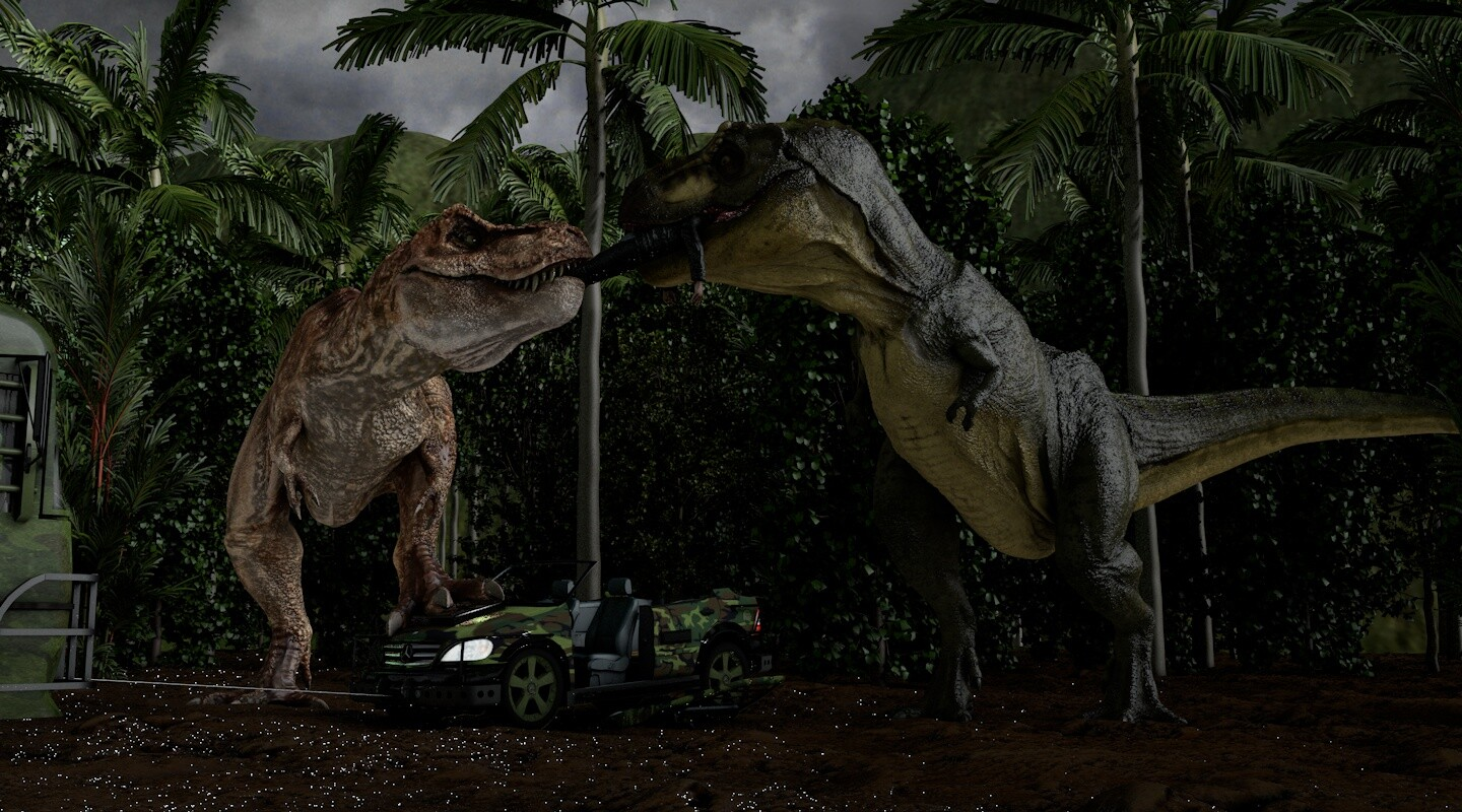 Mike Woods The Lost World Jurassic Park T Rex