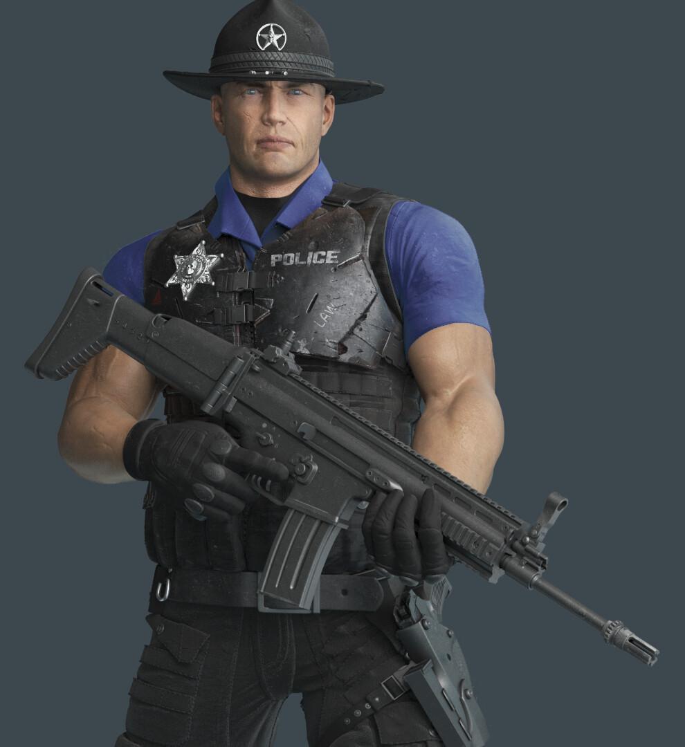 Juani garcia forn sheriffeli nobeardjpg