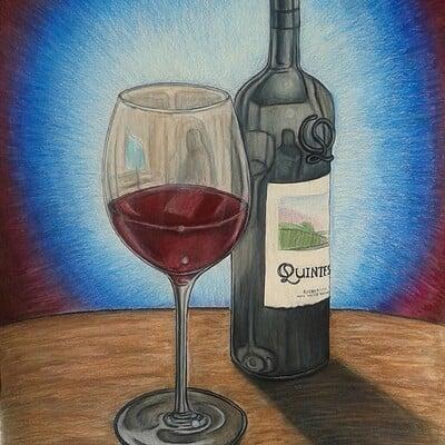 Daniel denta wine still life 1