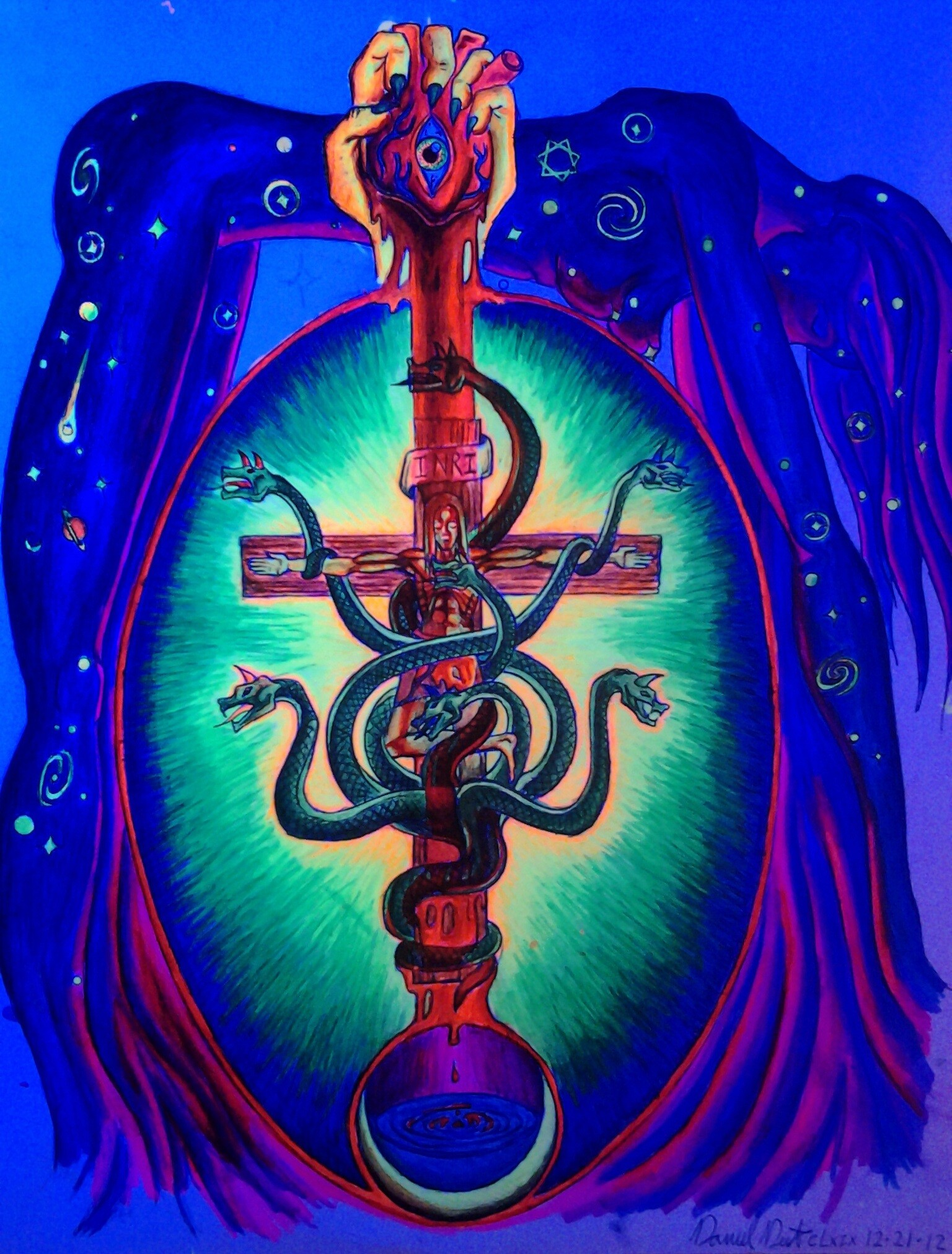 Daniel denta i qlb o dm inri m q the living image of the mark of the beast 666