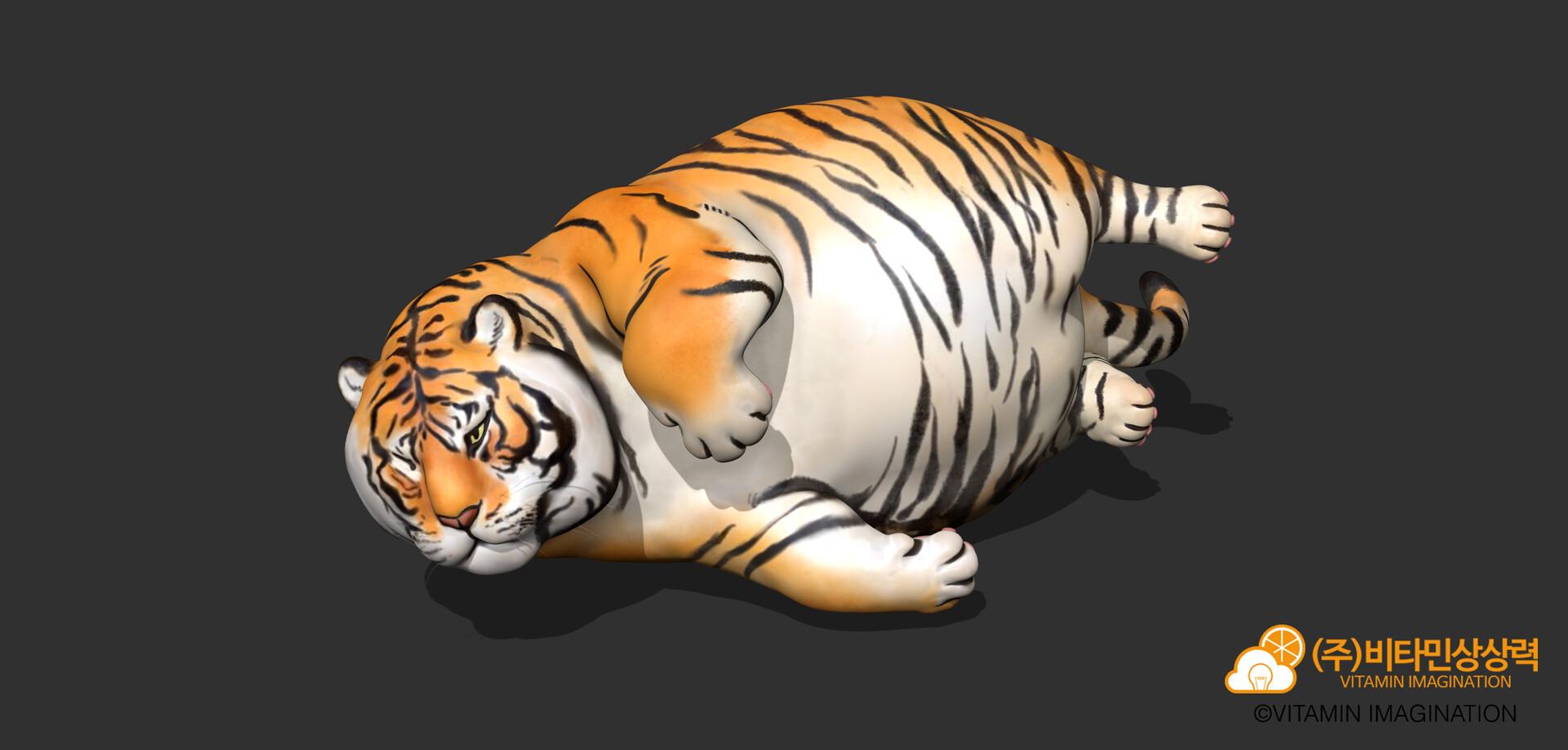 Vitamin Imagination Fatiger Fat Tiger