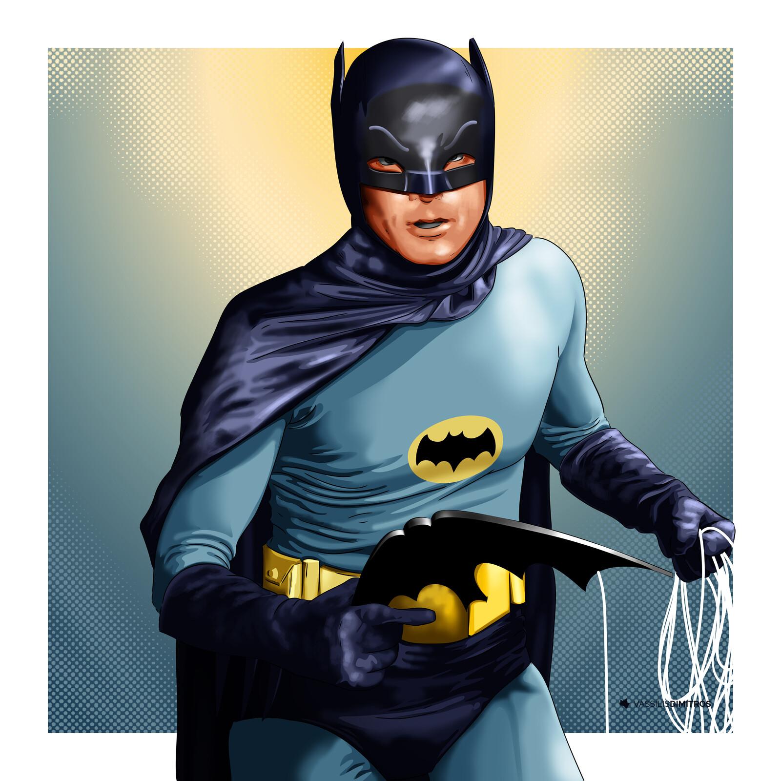 Adam West Batman (1966 TV Series)