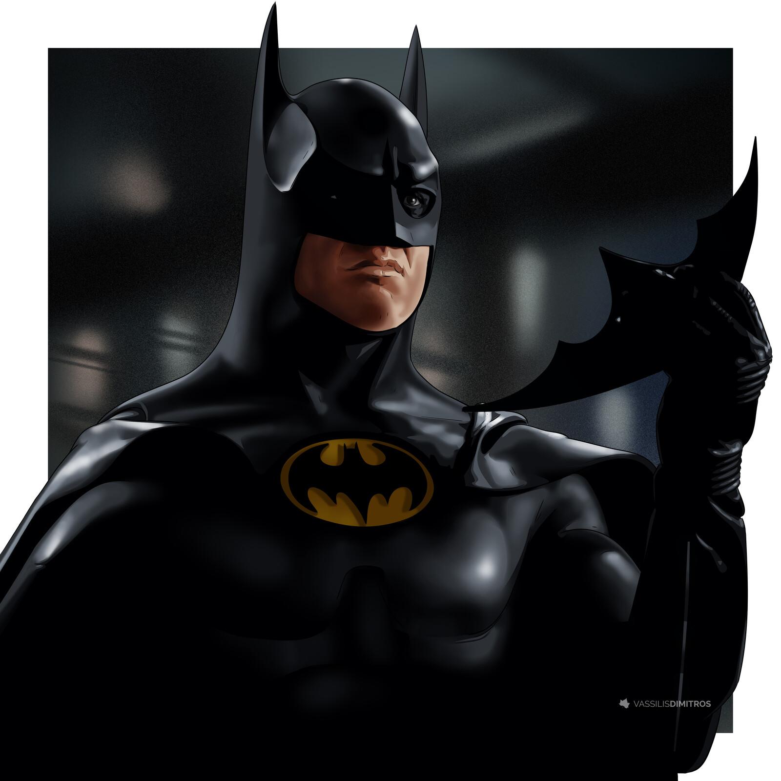 Michael Keaton Batman (1989)  Batman Returns (1992)
