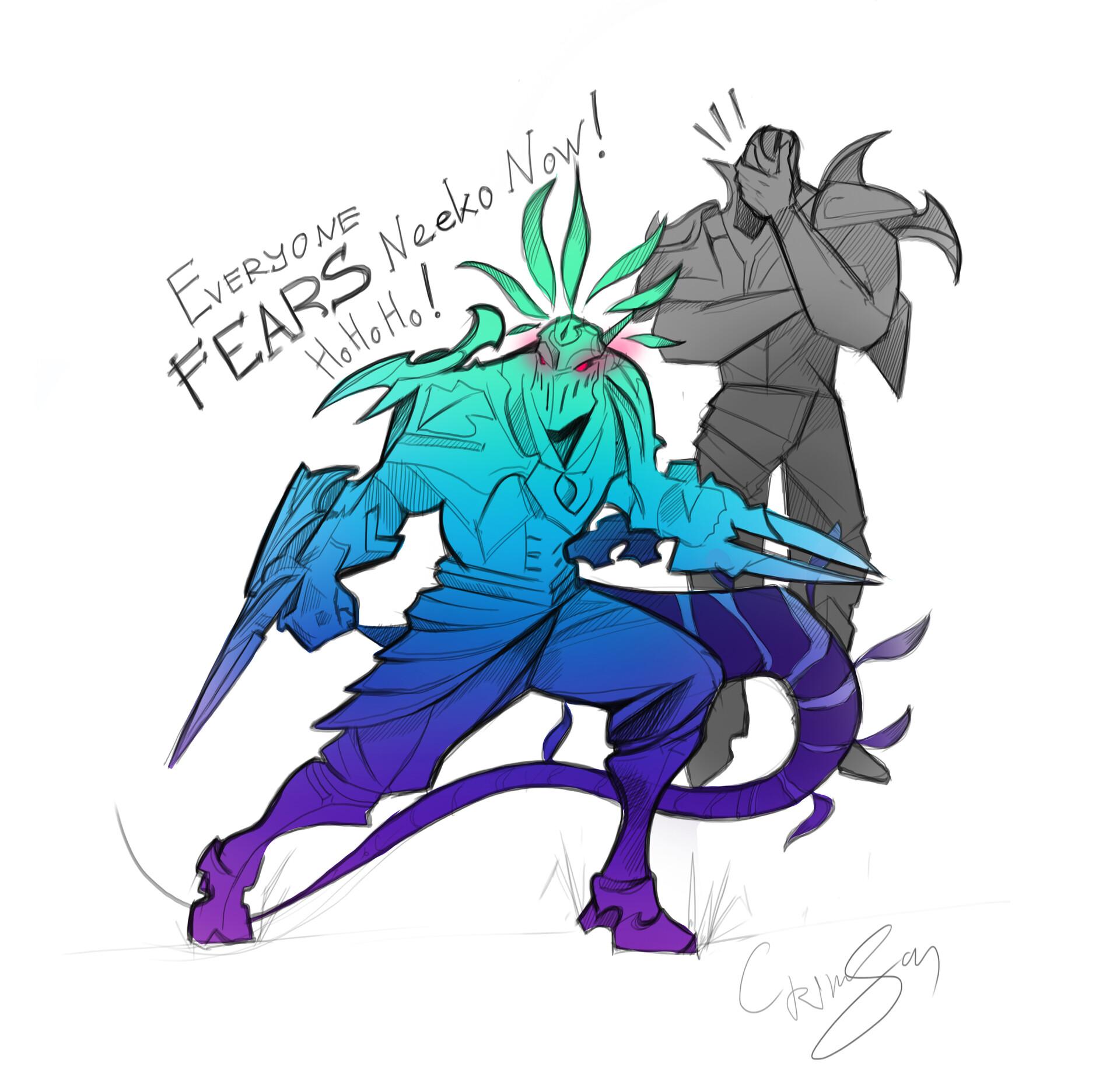 Zed and Neeko
