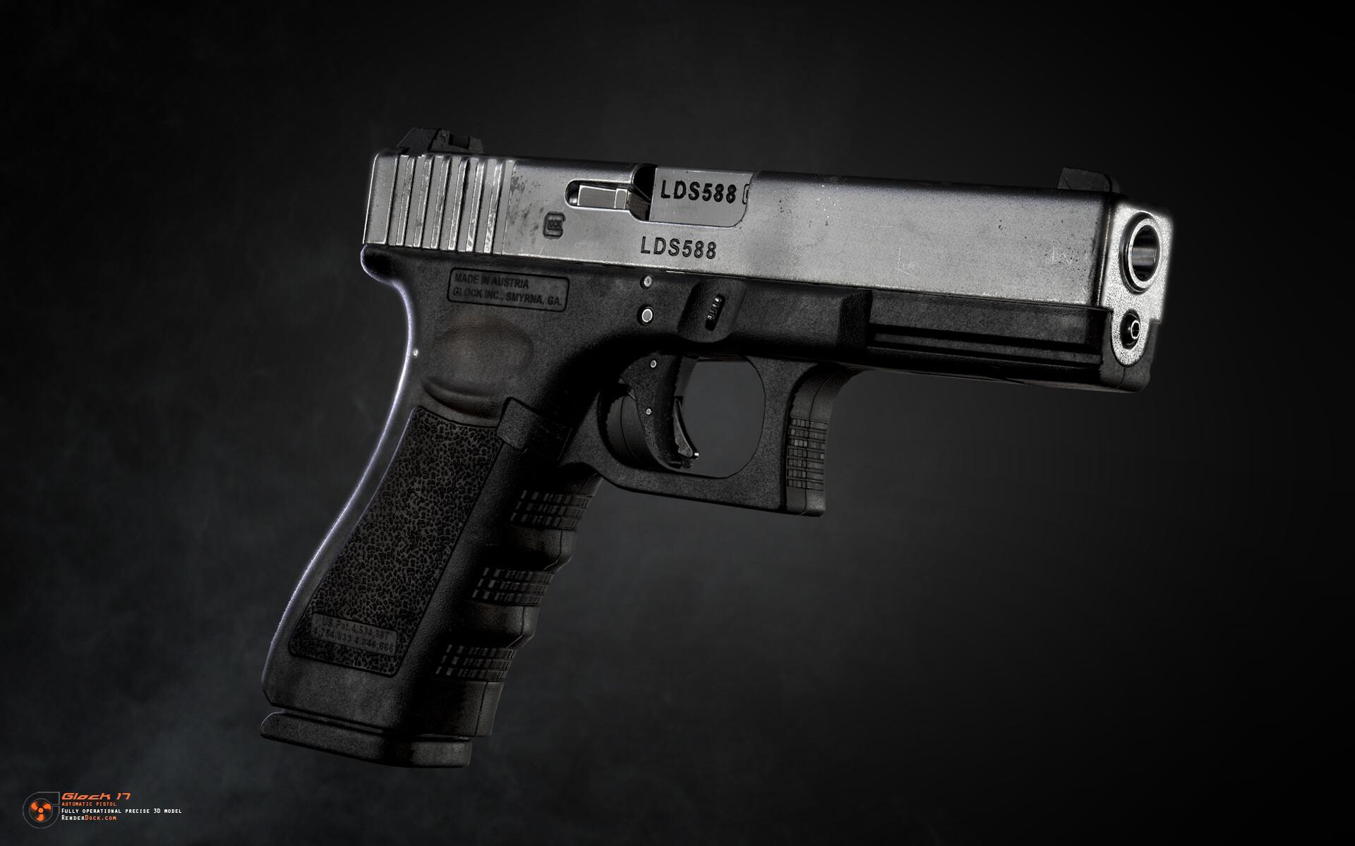 Renderdock studio glock17 3