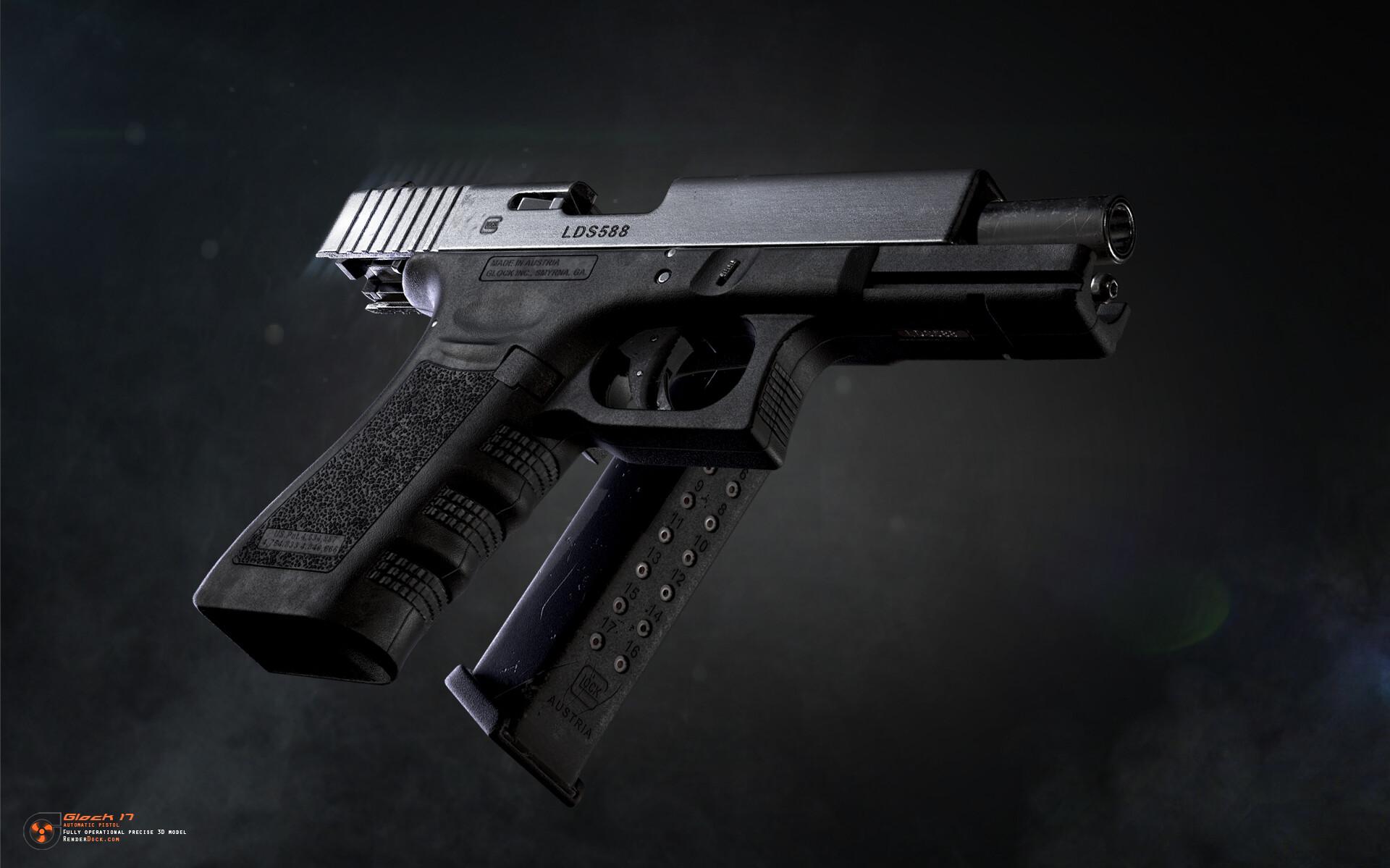 Renderdock studio glock17 4