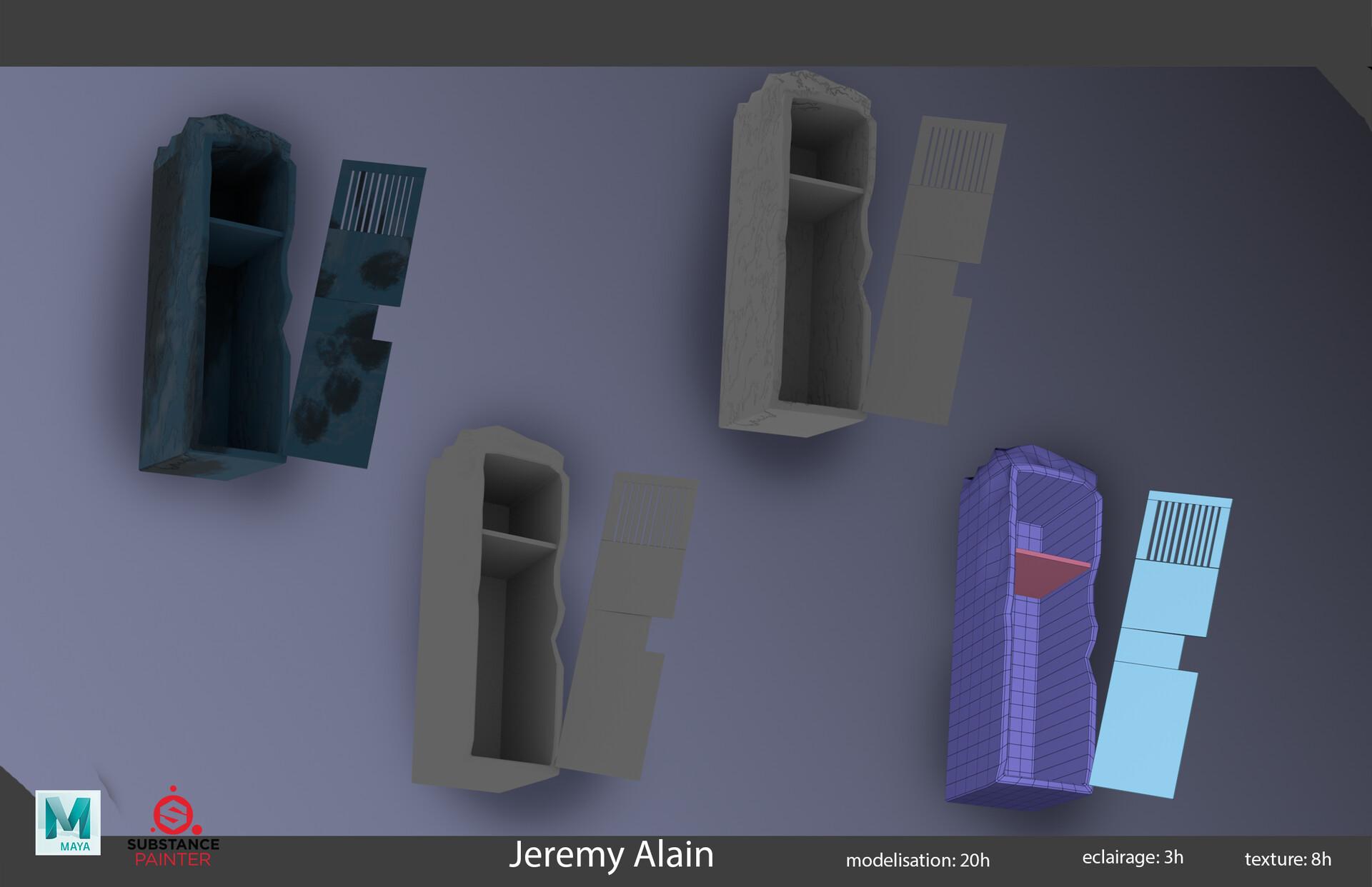 ArtStation - layout post-apo , jeremy alain