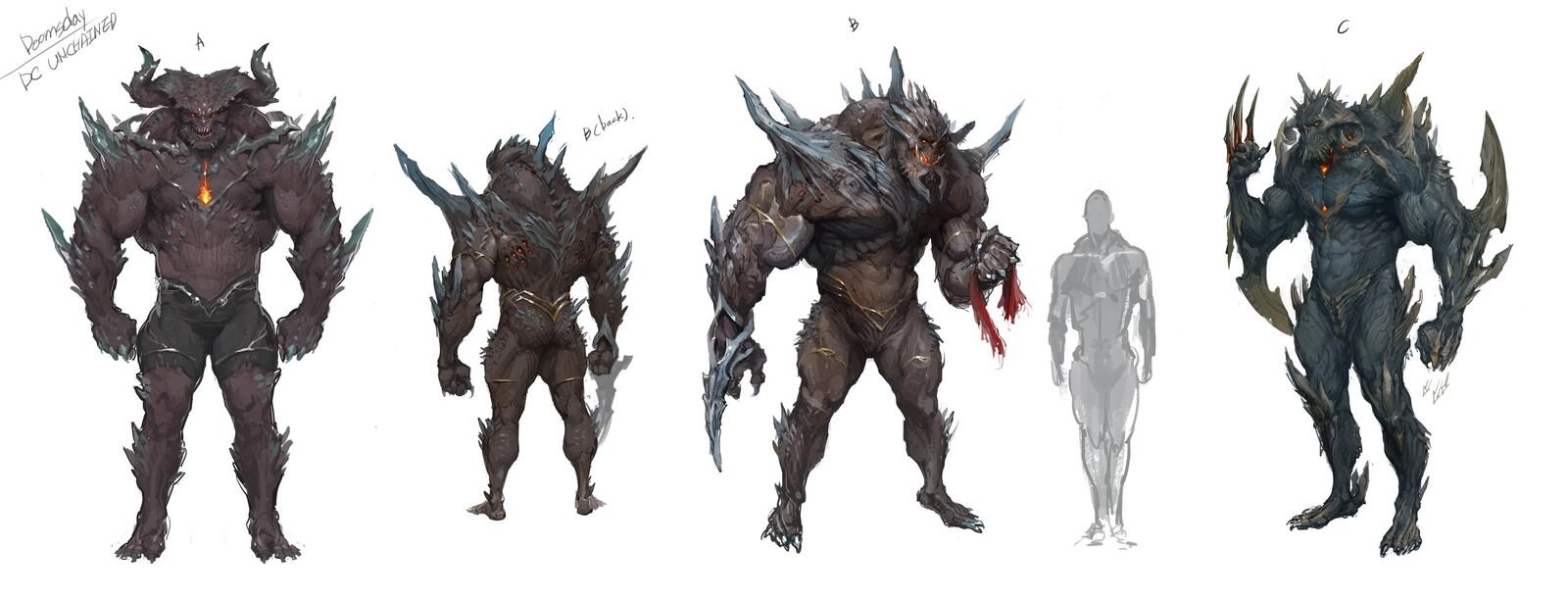 Artstation Doomsday New Design Jong Min Lee