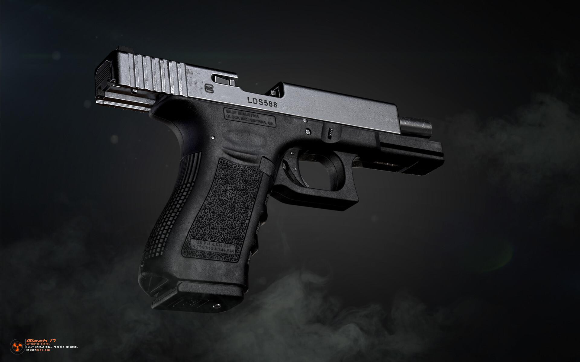 Renderdock studio glock17 5
