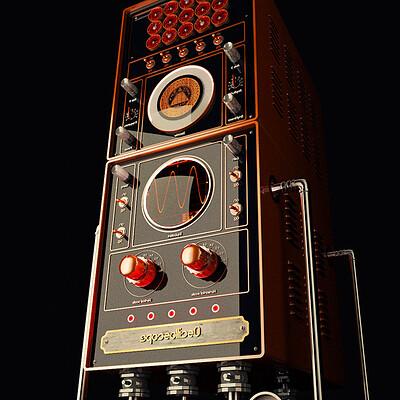 Maks trofimov maks trofimov steampunk oscilloscope 1