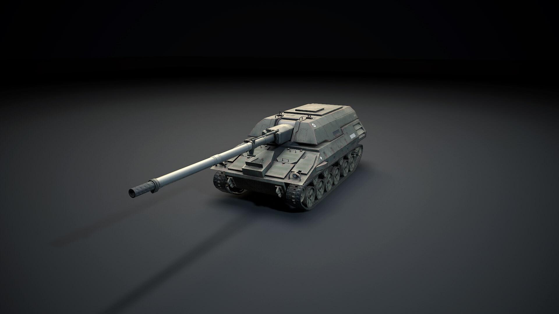 ArtStation - Tanks Pack #2, Alex Tsuba