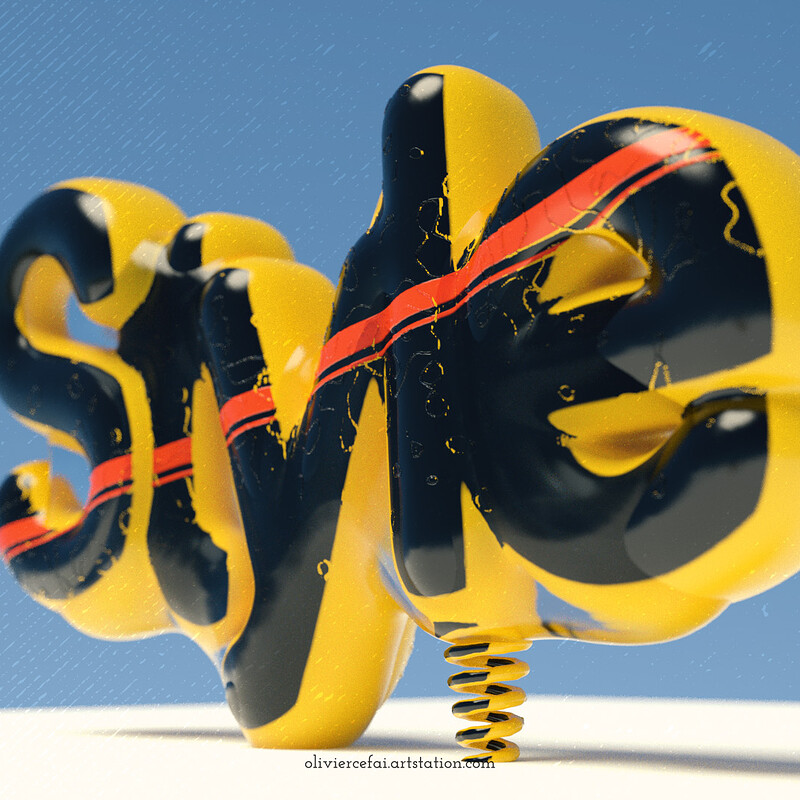 Styleframe - Inflatable text
