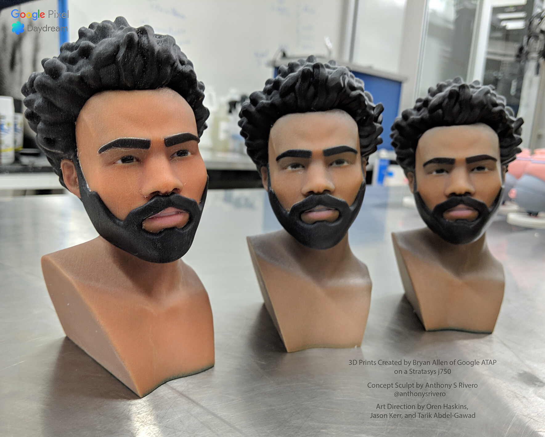 Anthony rivero gambino bust color3dprints copy