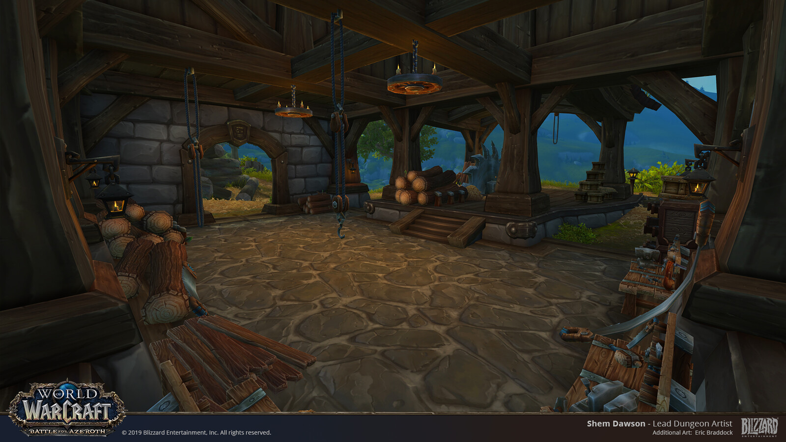 The LumberMill Area