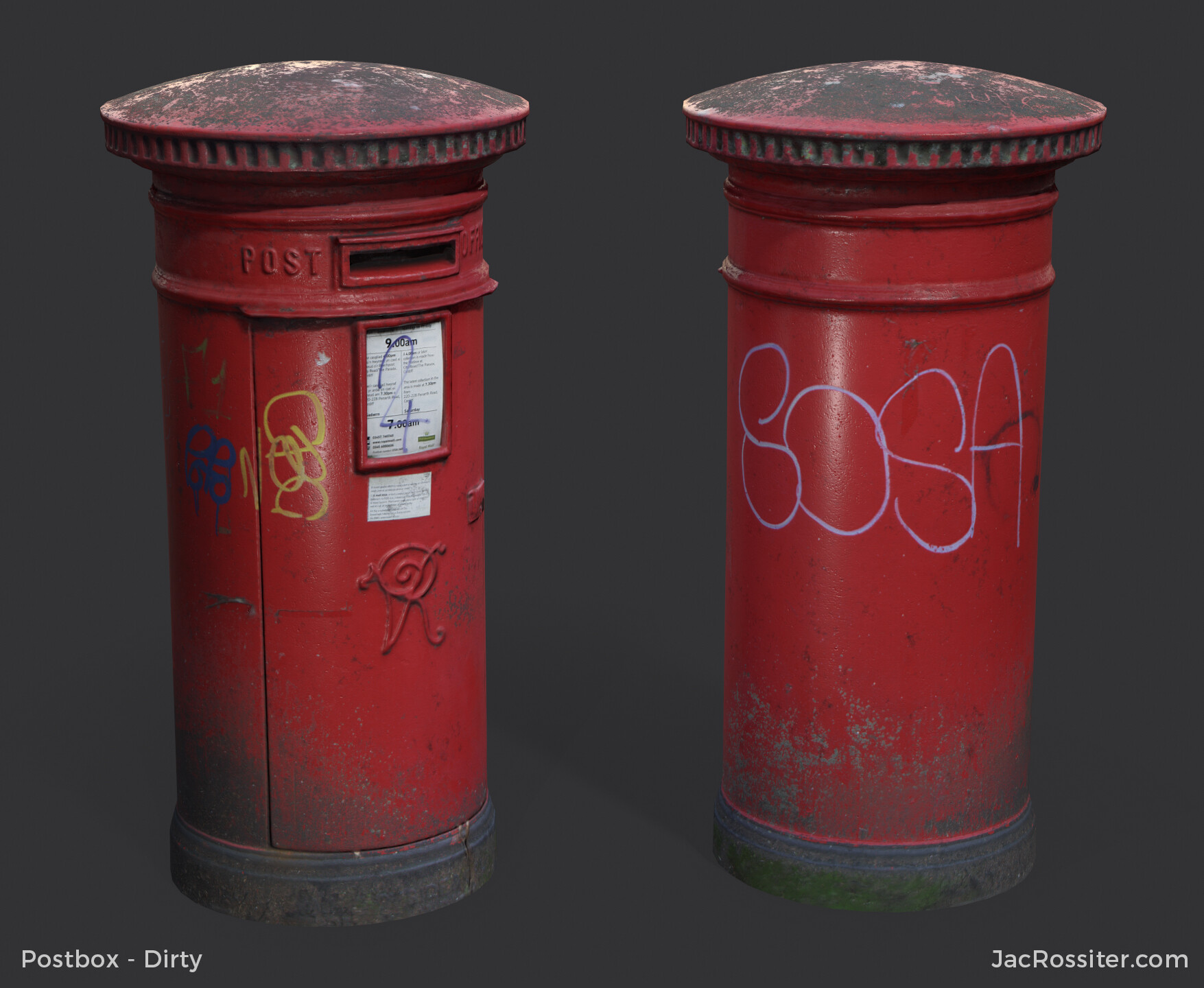 Jac rossiter postbox render a